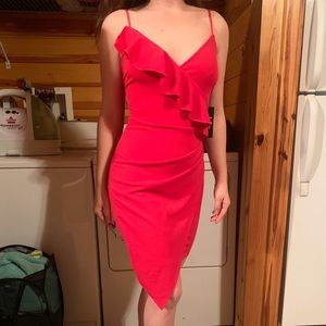 Lulu's Fuschia Cocktail Dress